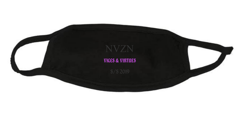 """Vices & Virtues"" Face Mask"