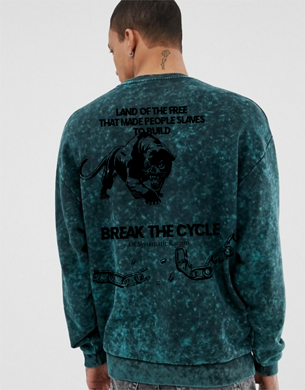 """Break The Cycle"" Sweater"