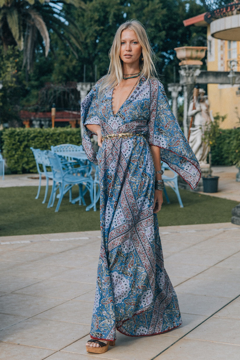 Alabama Getaway maxi caftan dress