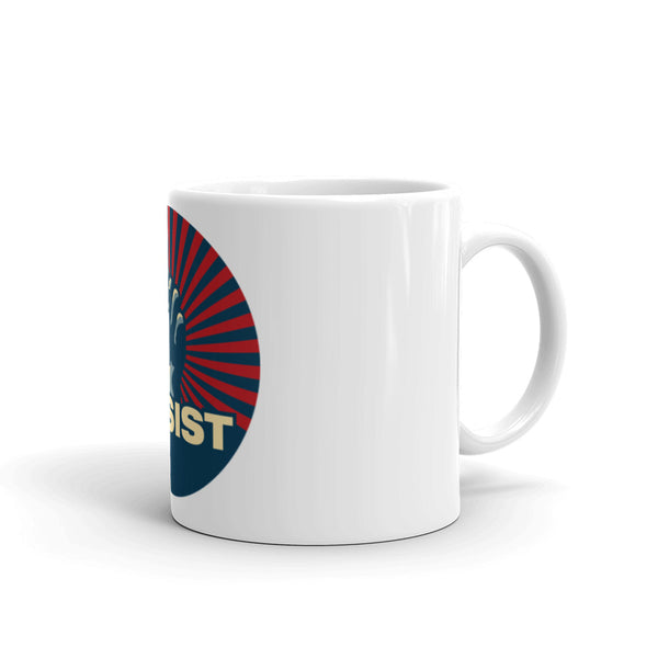 Resist - Fist Mug  Civil Rights Donation
