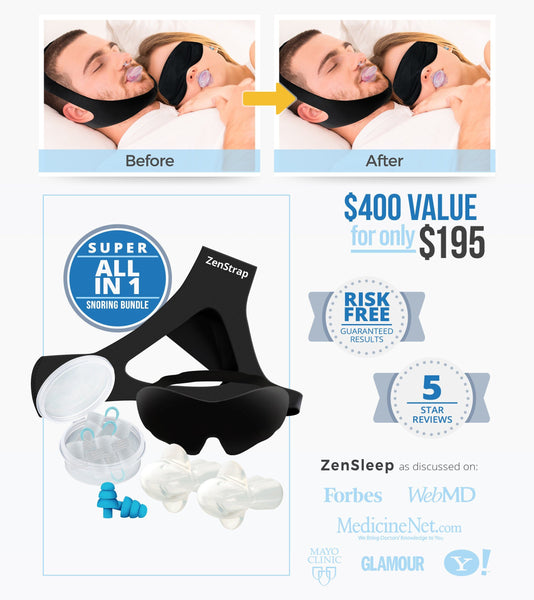 Super All-in-One Stop-Snoring Bundle [SALE]
