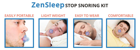 [ON SALE TODAY] Single ZenGuard Tongue Retaining Device - Stops Snoring in 24 Hrs, Guaranteed.