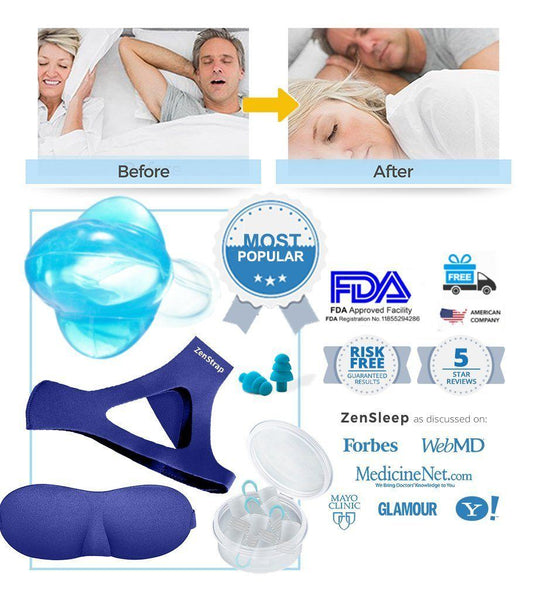 [LIMITED SALE: SAVE $300] All-in-One Stop-Snoring Kit
