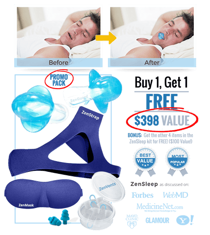 Multi-Pack ZenGuard [ON SALE TODAY Buy 1 Get 1 FREE!] Stop Snoring Tonight and Get the Beauty-Sleep You Deserve!