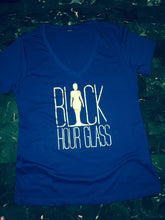 Classic Black Hour Glass Apparel Tshirt