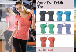 Space Dye Dri-fit Tee