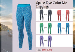 Space Dye Color Me Leggings
