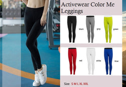 Activewear Color Me Leggings