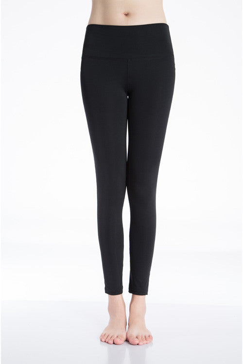 Classic Athlete Leggings (Black/ Blue/ Gray/ Green/ Pink/ Purple/ Red) - Exercise Suit-Up! Clothing wear