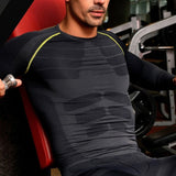 Streamline L/S Compression (Black/ Green/ Red) - Exercise Suit-Up! Clothing wear