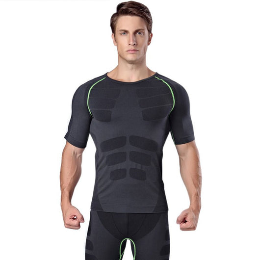 Streamline Compression Tee - Exercise Suit-Up! Clothing wear