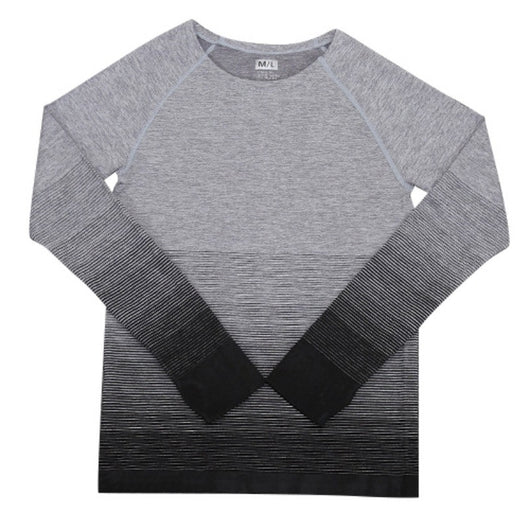 Gradient Colour L/S Tee - Exercise Suit-Up! Clothing wear
