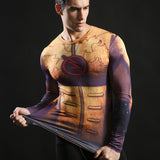 The Flash Turbo Activewear Compression Long Sleeves - Exercise Suit-Up! Clothing wear