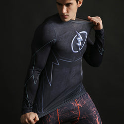 The Flash Activewear Compression Long Sleeves