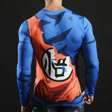 "Goku ""GO"" Activewear Compression Long Sleeves"