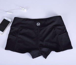 Low Waist Basic Athlete Shorts