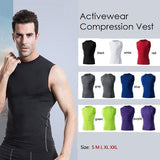 Activewear Compression Vest - Exercise Suit-Up! Clothing wear