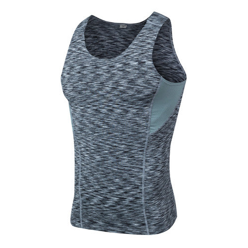 Activewear Space Dye Compression Vest - Exercise Suit-Up! Clothing wear