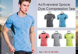 Space Dye Color Compression Tee