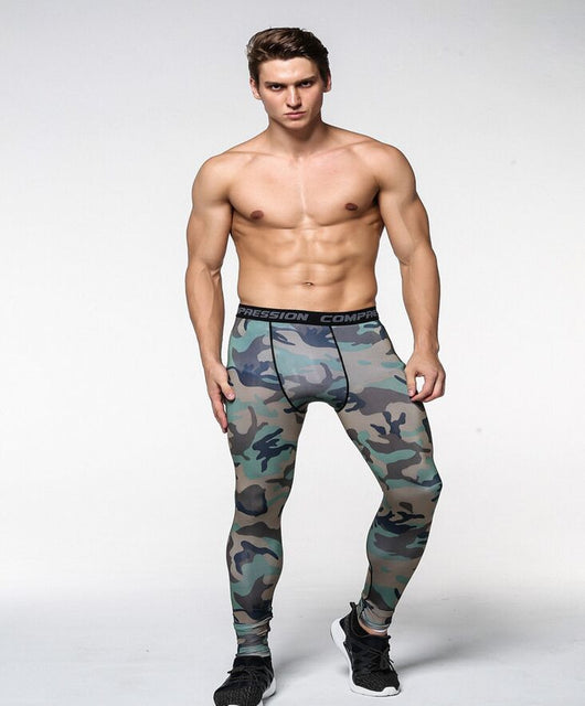 Camo Compression Pants (9 Design Click To View) - Exercise Suit-Up! Clothing wear