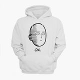 One-Punch Man Hoodie (White/ Grey/ Black) - Exercise Suit-Up! Clothing wear