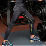 Streamline Compression Pants (Green/ Red) - Exercise Suit-Up! Clothing wear