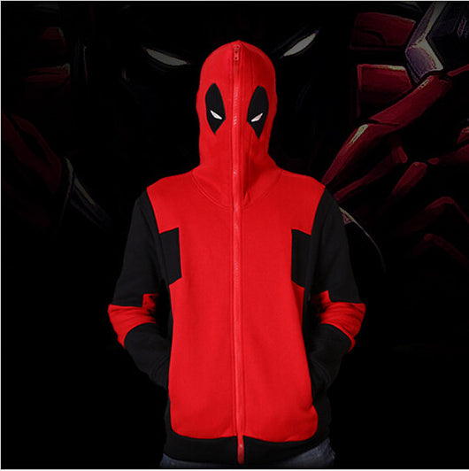 Deadpool Hoodie - Exercise Suit-Up! Clothing wear