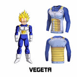 Anime Compressions (One Punch Man/ Dragon Ball/ One Piece/ Digimon/ Pokemon/ Naruto) - Exercise Suit-Up! Clothing wear