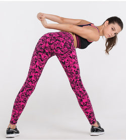 Push Me Up Active Lines Leggings - Exercise Suit-Up! Clothing wear