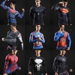 SUPERHERO L/S Muscle Tee (Superhero Full Collection)