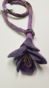 Felted Necklace and pendant