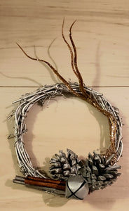 Mini Holiday Wreath Ornament