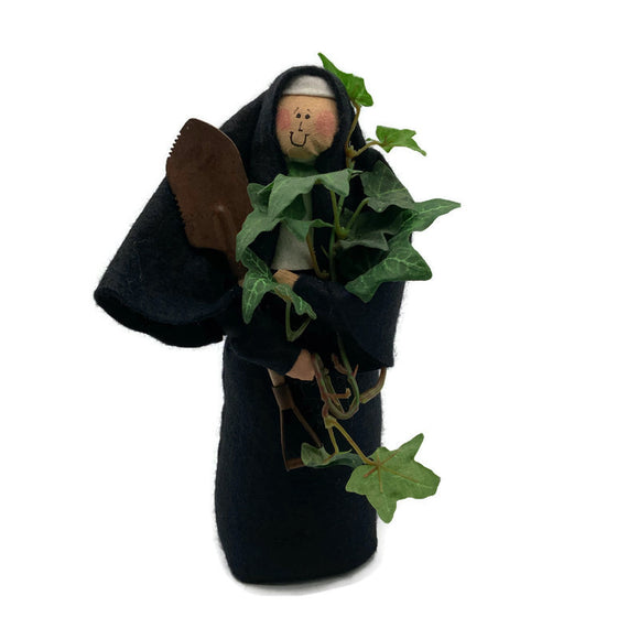 Sister Virginia Creeper, the gardener