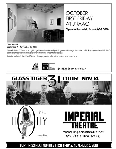 First Friday Half Page Ad