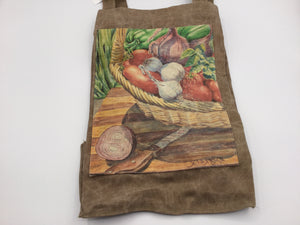 "SMALL TOTE BAG ""Veggies"""