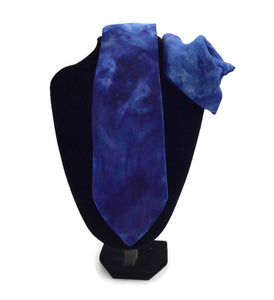100% Silk Tie and pocket pouf