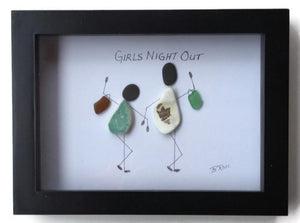 Girl's Night Out Beach Glass