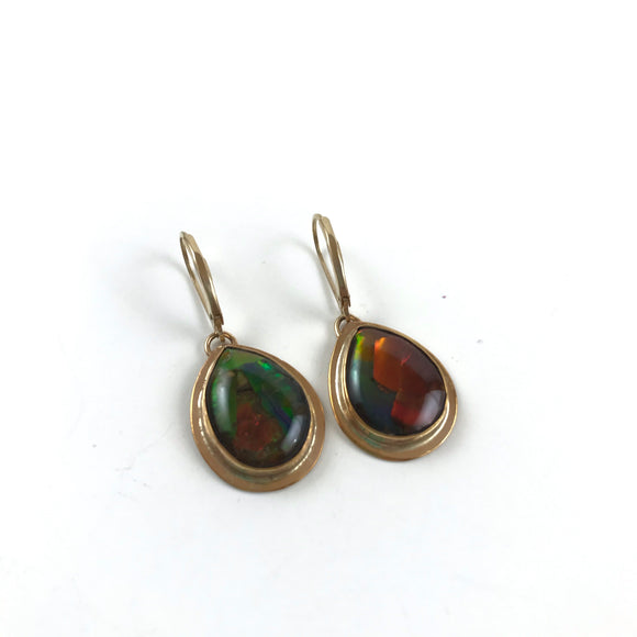 Alberta Ammolite earrings