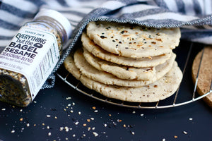 4-Ingredient Paleo Tortillas