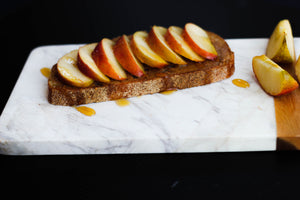 Apple Pie Almond Butter Toast Recipe