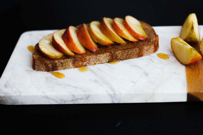 Superfood Apple Almond Butter Toast