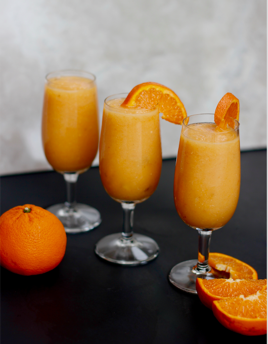 Banana-less Orange Creamsicle Smoothie