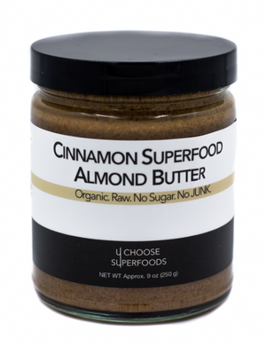 .Cinnamon Superfood Almond Butter.