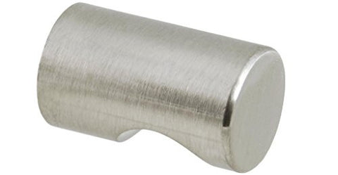 ckp brand cylinder knob brushed nickel