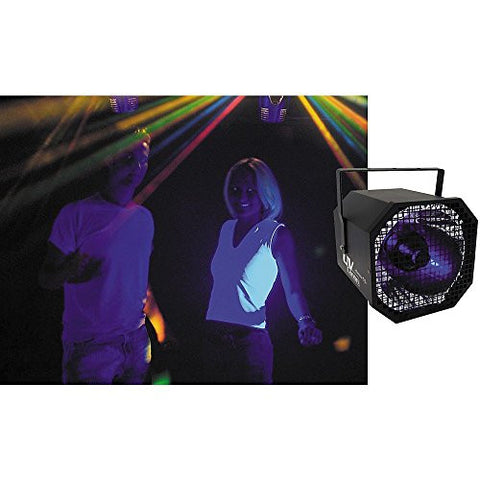 american dj uv canon blacklight spotlight - Black Light Bulbs