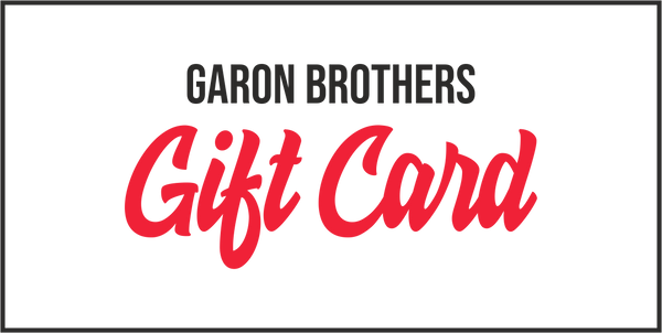 GARON BROTHERS PROMOTIONAL Gift Card