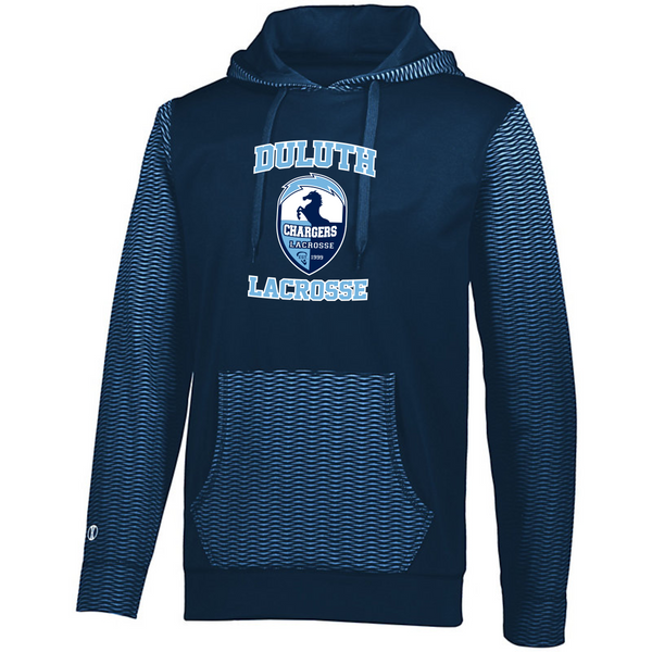 Youth and Adult Holloway Range Hoodie with heat transfer logo