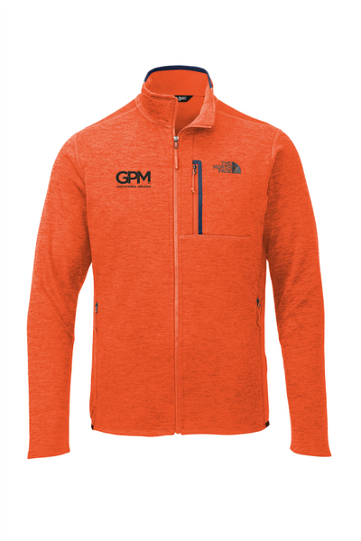 GPM The North Face ® Skyline Full-Zip Fleece Jacket with one color embroidered logo