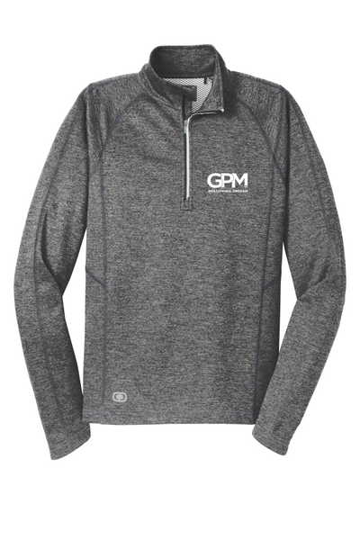 GPM OGIO OE500 ENDURANCE Pursuit 1/4-Zip with white embroidered logo