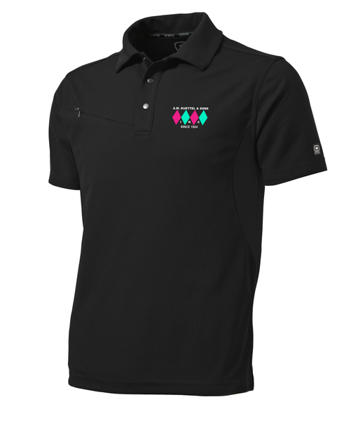 OG102 OGIO® - Accelerator Polo with embroidered logo